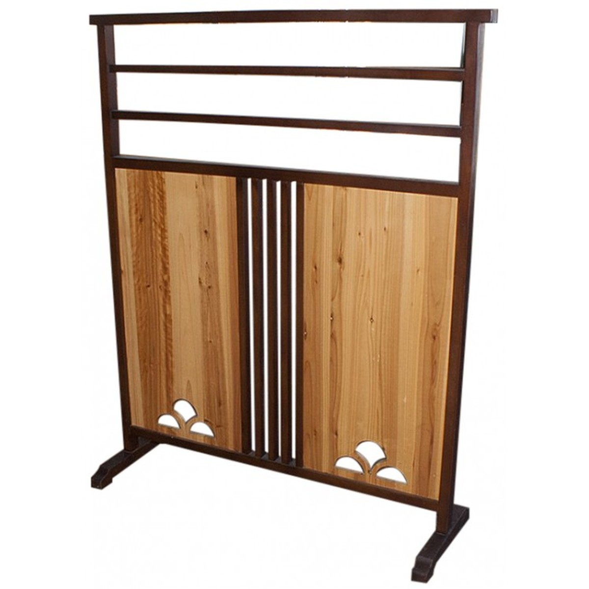 Marvelous photograph of  Wooden Screen Divider (MF2013) Peterborough Cambridgeshire with #714426 color and 1200x1200 pixels