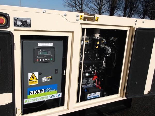 Buy AKSA 40Kva Single Phase Silent Diesel Generator