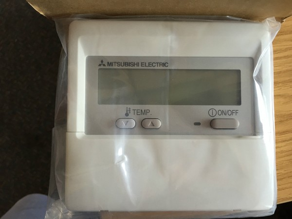 Mitsubishi remote air conditioning control unit