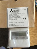 Mitsubishi PAR-F27MEA remote air conditioning control unit