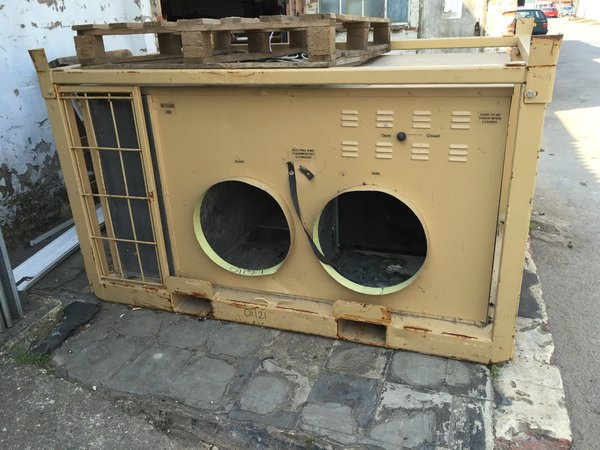 EX MOD mobile environment control air con/heating unit