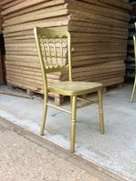 Gold Frame Cheltenham Stacking Chair