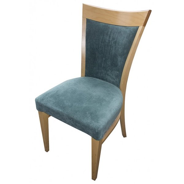 Chair With Green Upholstery