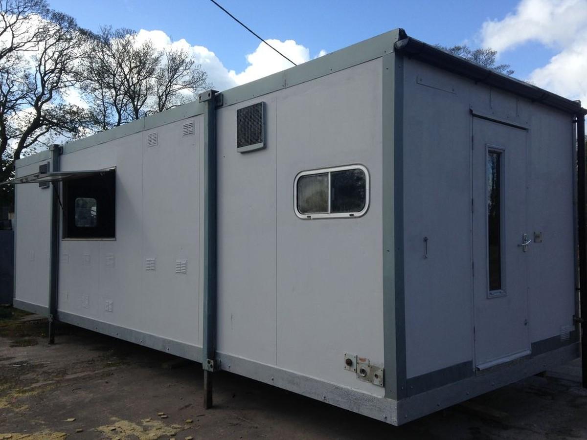 Portable Kitchen Trailer : Secondhand portable buildings mobile kitchen units
