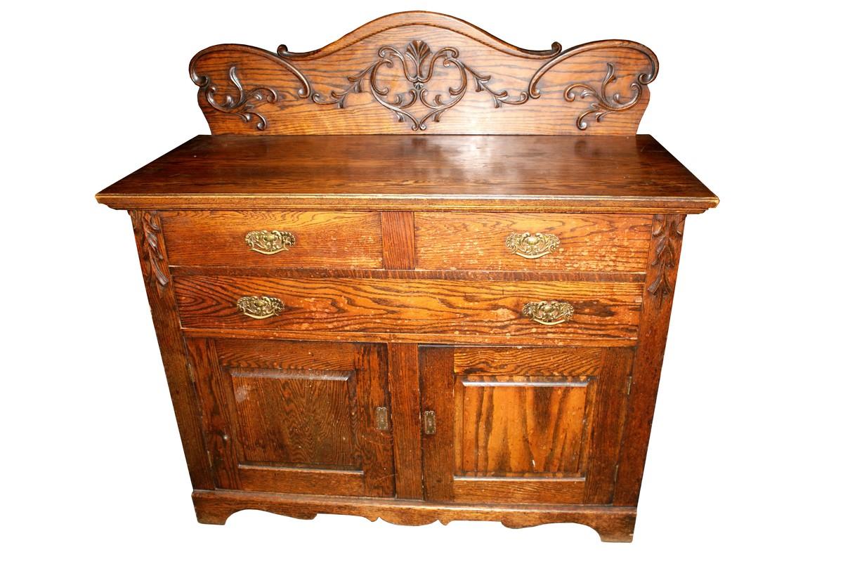 Antiques Bazaar Chiffoniers American Carved Oak