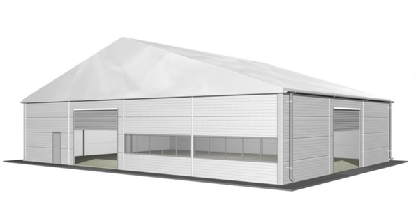 HTS Industrial 30m x 80m Warehouse