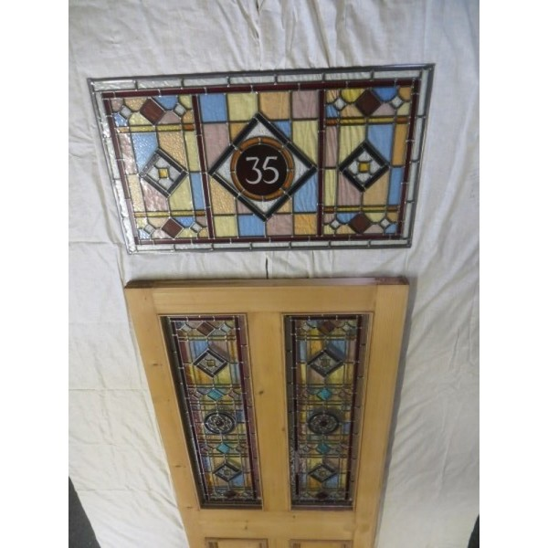 Reclaimed Edwardian door