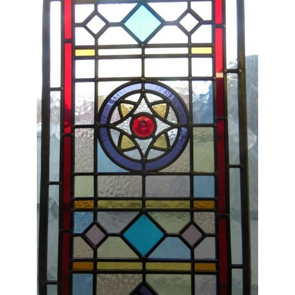 Traditional Edwardian door glass