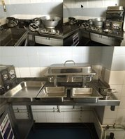 Chafing dishes, pans, job lot