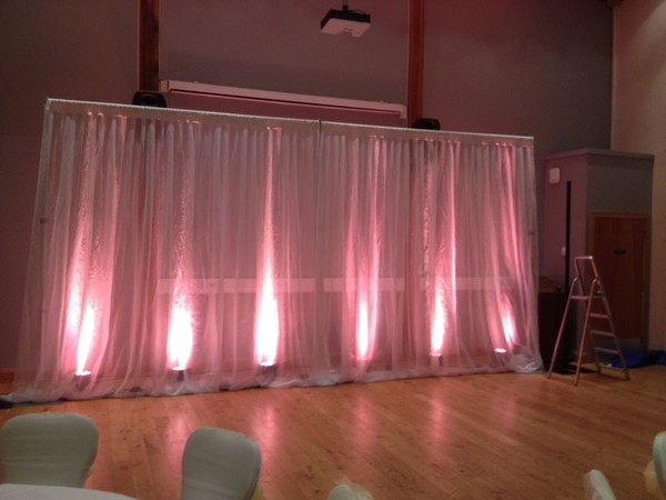 Buy 2 White Voile Pleated Drapes