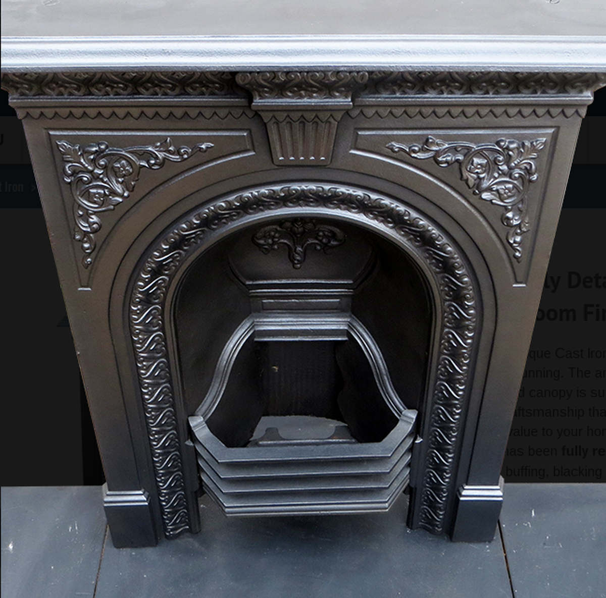 Antique Vintage Bedroom Fireplace: Secondhand Vintage And Reclaimed