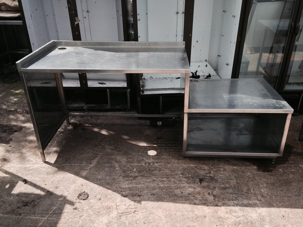 2100mm Stainless Steel Table