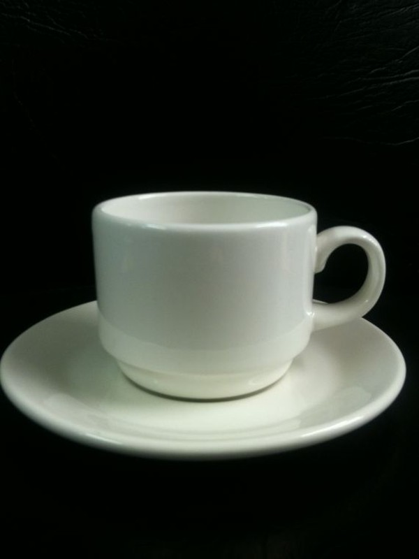6.1/4oz Dudson Tea Cup 001U & Saucer to Match