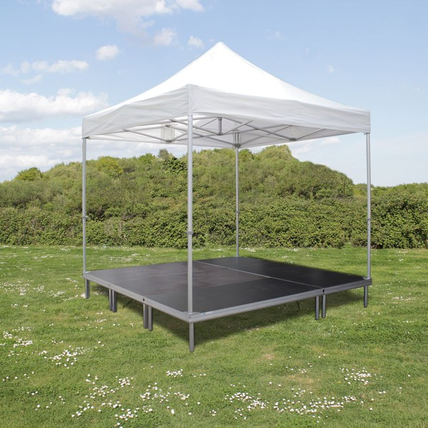 3m x 3m Gazebo stage system without walls