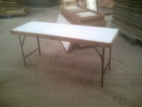 Melamine Topped Tables with metal legs