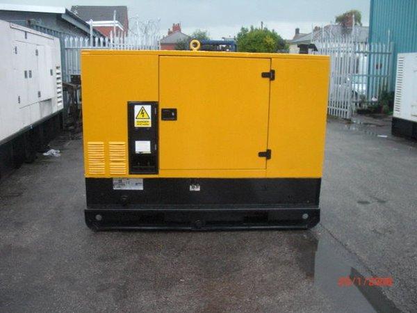 Year 2007 70kva Super Silent Diesel Generator