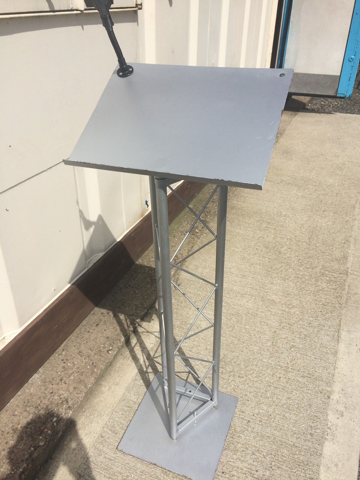 Secondhand Exhibition And Display Equipment Lecterns 2 Trilite Steel Lect