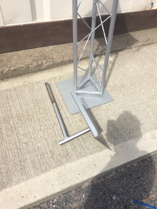 2 Trilite steel lecterns  for sale