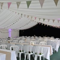 traditional multispan marquee