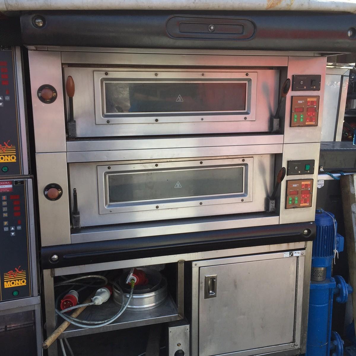 Moretti Forni Pizza Ovensecondhand Catering Equipment Pizza Ovens