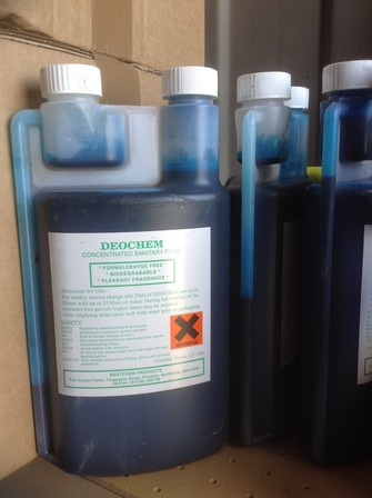 "DEOCHEM Concentrated Sanitary Fluid ""Blues"""