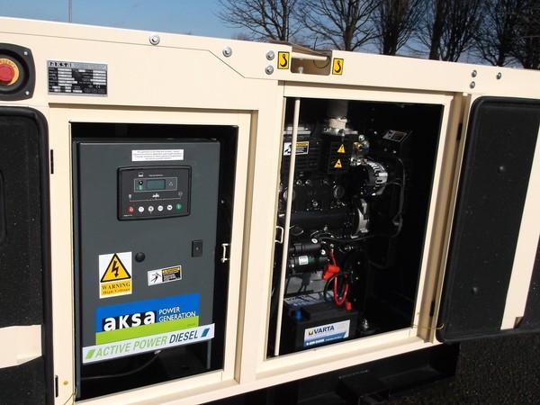 New AKSA 60Kva Silent Diesel Generator for sale
