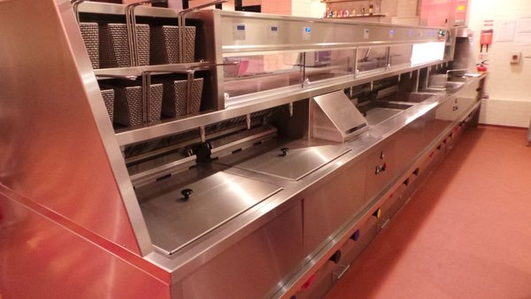 Secondhand Catering Equipment Fish And Chip Shop Equipment