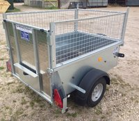 Ifor Williams P5E - 5ft Single Axle Trailer With Mesh Sides/ Rear Ramp