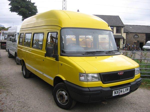 LDV Convoy Ford Dura Torque Engine