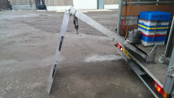 Raalloy Alloy hydraulic assisted ramp