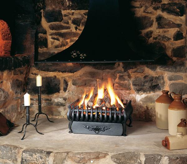 Large Stovax Spanish Fire Basket
