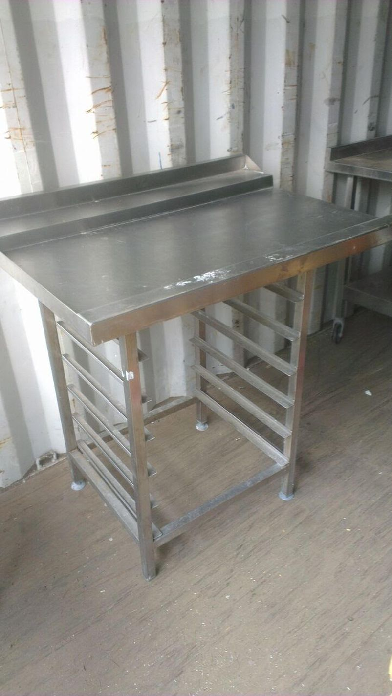 Table Top Dishwasher London : ... Stainless Steel Tables Stainless Steel Dishwasher Table In - London