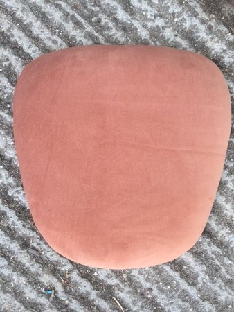 108 fawn velour seat pads