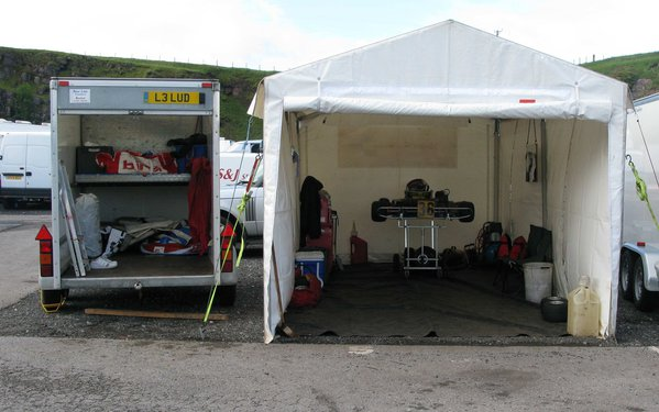 Sold 6Mx3M Race Awning