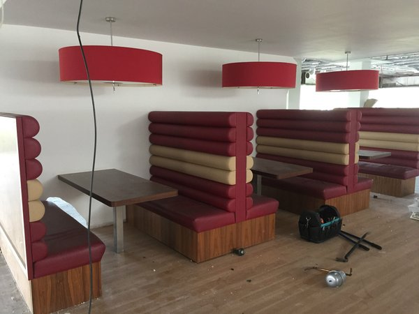 Fixed Booth/Bench American Dinner Seating
