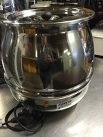 Deluxe TS 800 stainless steel soup warmer