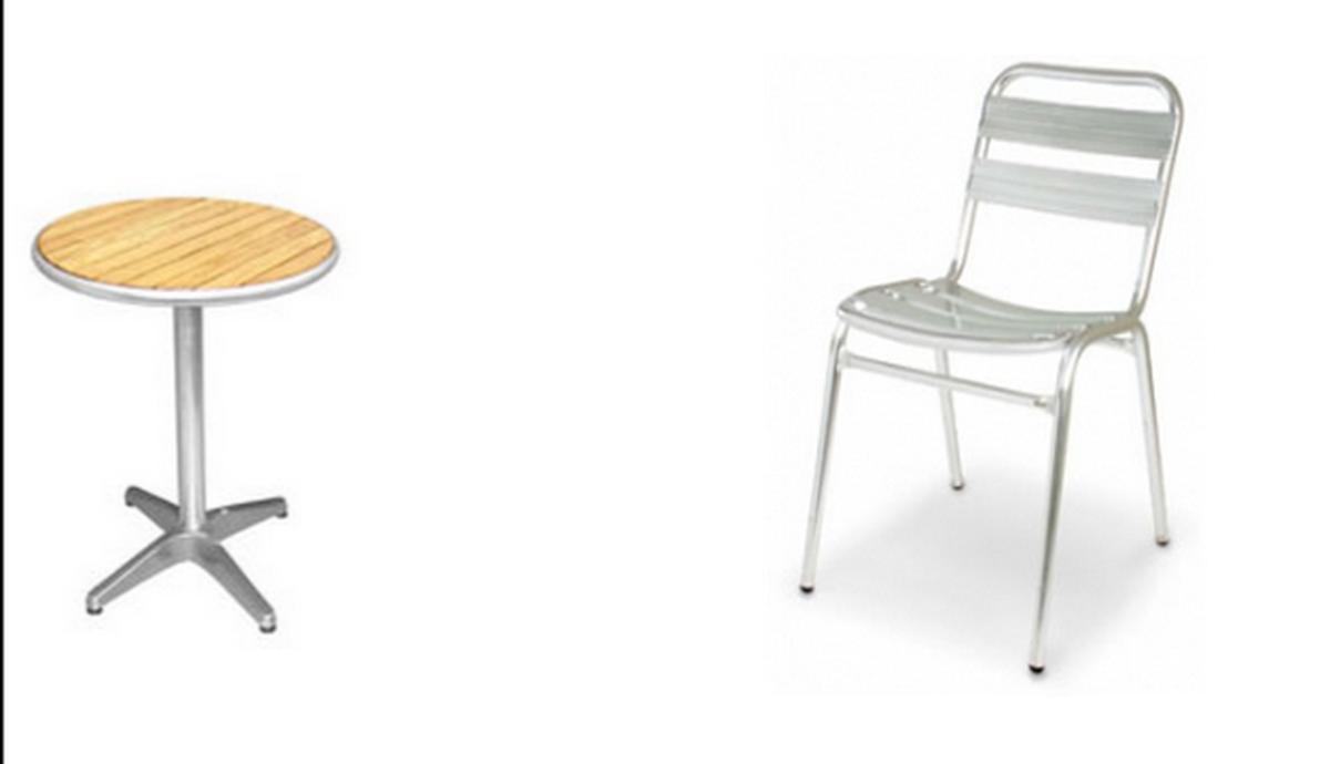 Secondhand Chairs And Tables Cafe Or Bistro Chairs 20x