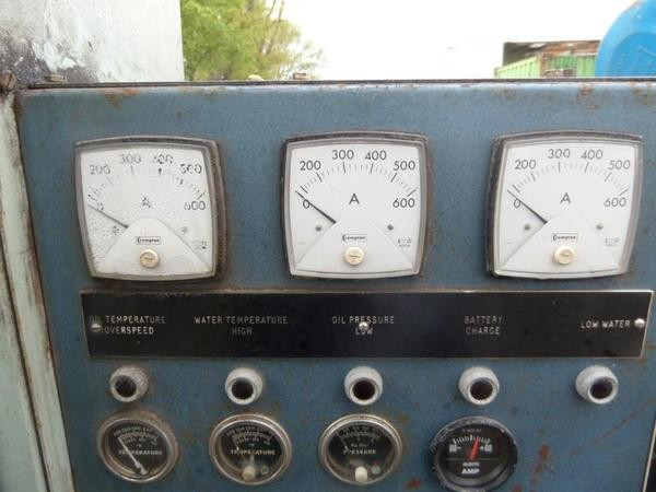 Buy Used 6 cylinder turbo dorman 295 kva generator