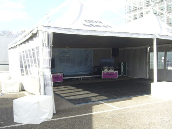 Second hand 10m x 10m Marquee