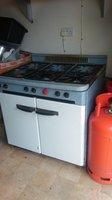 6 burner enamel finish LPG cooker
