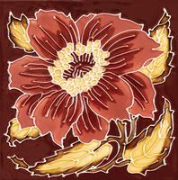 Stovax Chrysanthemum Fireplace Tile
