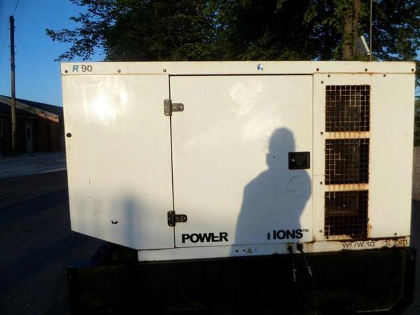 Enclosed diesel generator for sale