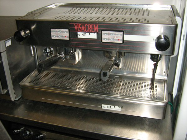 Visacrem Nera 2 Group Coffee Machine