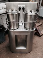soup warmer Stainless Steel Table