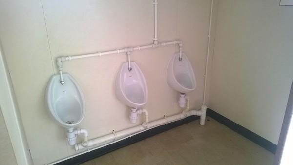 Portable Toilet Block urinals