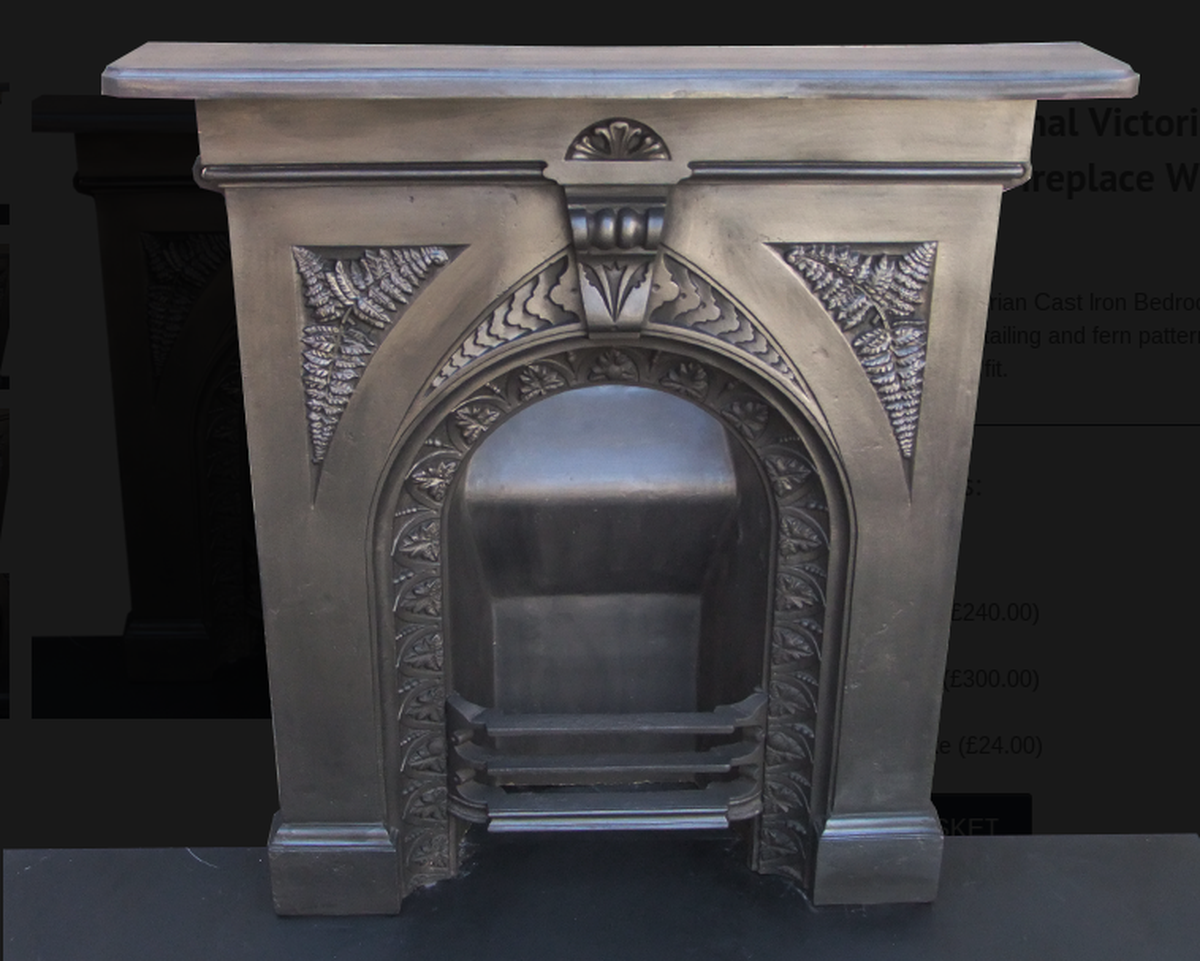 Victorian Bedroom Fireplace Fret : Secondhand vintage and reclaimed fireplaces fire
