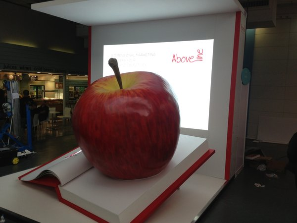 Giant Model Apple