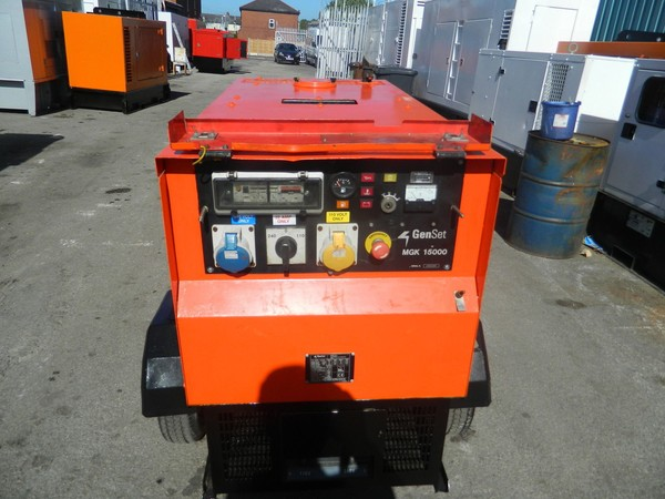 Used 2008 15kva Gen Set Kubota Diesel Generator For Sale