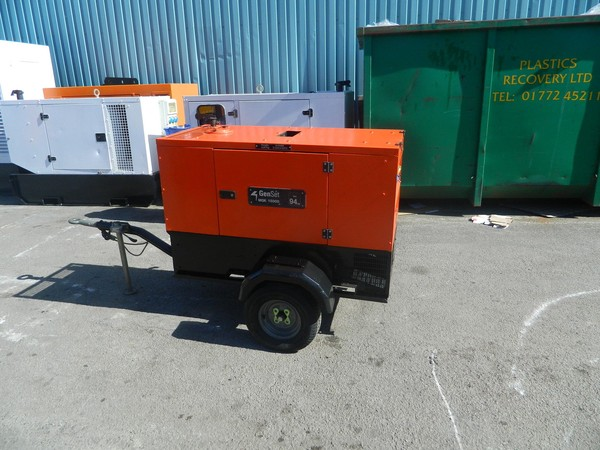 Used 2008 15kva Gen Set Kubota Diesel Generator For Sale