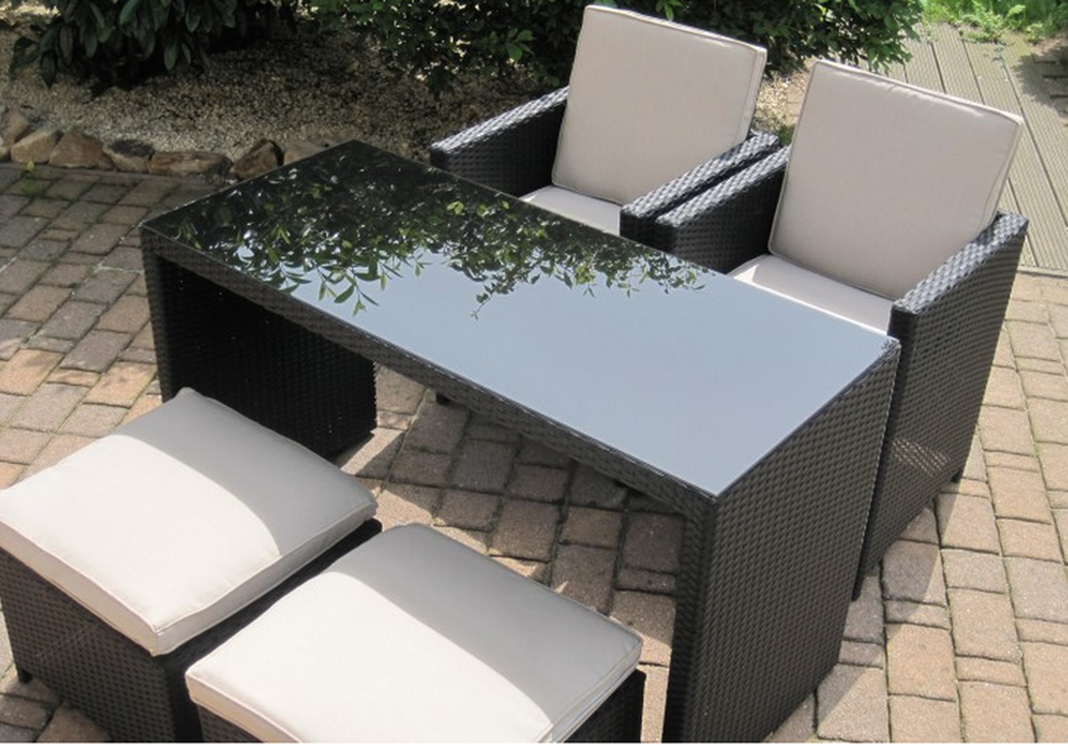 Compact Patio Furniture Set ...